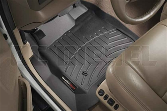 WeatherTech 440021 Black Front FloorLiner for 1999-2007 Ford 7.3L, 6.0L Powerstroke