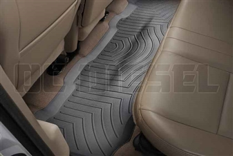 WeatherTech 440022 Black Rear FloorLiner for 1999-2010 Ford 7.3L, 6.0L, 6.4L Powerstroke