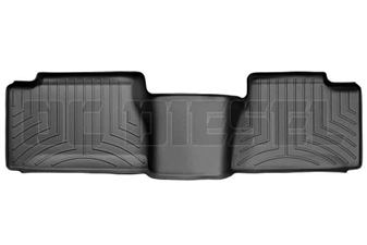 WeatherTech 440034 Black Rear FloorLiner for 2001-2007 GM 6.6L Duramax LB7, LLY, LBZ