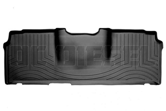 WeatherTech 440123 Black Rear FloorLiner for 2006-2017 Dodge 5.9L, 6.7L Cummins