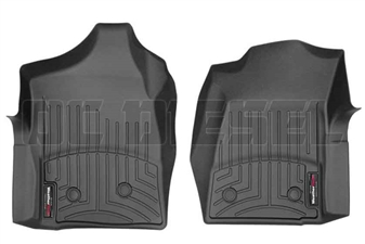 WeatherTech 440281 Black Front FloorLiner for 2001-2007 GM 6.6L Duramax LB7, LLY, LBZ