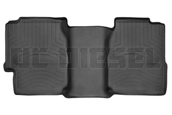 WeatherTech 440622 Black Rear FloorLiner for 2001-2007 GM 6.6L Duramax LB7, LLY, LBZ