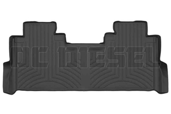 WeatherTech 4410123 Black Rear FloorLiner for 2017 Ford 6.7L Powerstroke
