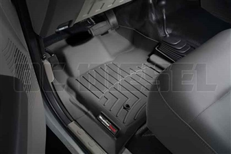 WeatherTech 441261 Black Front FloorLiner for 2008-2010 Ford 6.4L Powerstroke