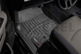 WeatherTech 442161 Black Front FloorLiner for 2010-2012 Dodge 6.7LCummins