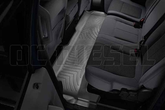 WeatherTech 443052 Black Rear FloorLiner for 2011-2016 Ford 6.7L Powerstroke