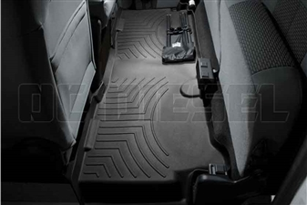 WeatherTech 443053 Black Rear FloorLiner for 2011-2016 Ford 6.7L Powerstroke