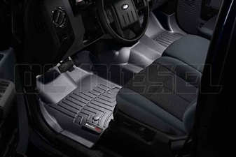 WeatherTech 443291 Black Front FloorLiner for 2011-2012 Ford 6.7L Powerstroke