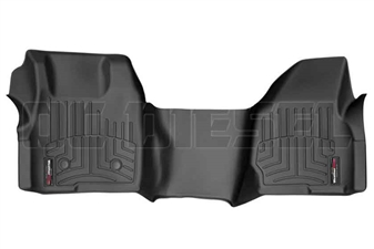 WeatherTech 444051 Black Front FloorLiner for 2011-2012 Ford 6.7L Powerstroke
