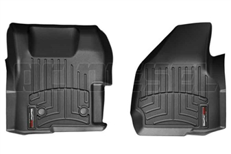 WeatherTech 444221 Black Front FloorLiner for 2011-2012 Ford 6.7L Powerstroke