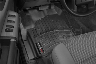 WeatherTech 444331 Black Front FloorLiner for 2012-2016 Ford 6.7L Powerstroke