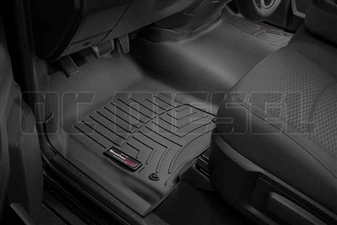 WeatherTech 444641 Black Front FloorLiner for 2012-2016 Dodge 6.7L Cummins