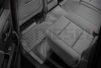 WeatherTech 445424 Black Rear FloorLiner for 2014-2017 GM 6.6L Duramax LML, LP5