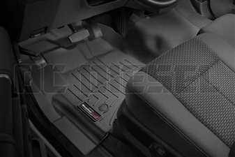 WeatherTech 445811 Black Front FloorLiner for 2012-2016 Ford 6.7L Powerstroke