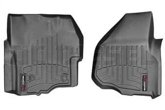 WeatherTech 445841 Black Front FloorLiner for 2012-2016 Ford 6.7L Powerstroke