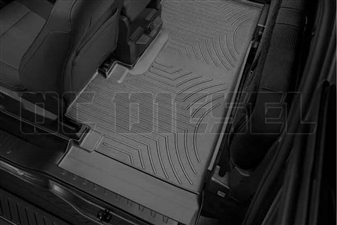 WeatherTech 446975 Black Rear FloorLiner for 2017 Ford 6.7L Powerstroke
