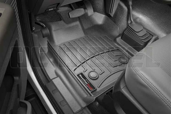 WeatherTech 448631V Black Front FloorLiner for 2013-2016 Ford 6.7L Powerstroke