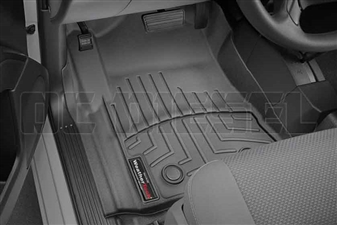 WeatherTech 449141V Black Front FloorLiner for 2014-2016 GM 6.6L Duramax LML