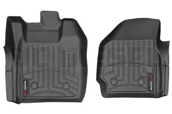 WeatherTech 449581V Black Front FloorLiner for 2013-2016 Ford 6.7L Powerstroke