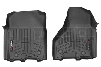 WeatherTech 449771V Black Front FloorLiner for 2012-2017 Dodge 6.7L Cummins