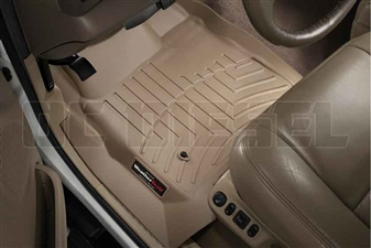 WeatherTech 450021 Tan Front FloorLiner for 1999-2007 Ford 7.3L, 6.0L Powerstroke
