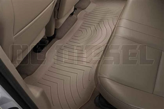 WeatherTech 450022 Tan Rear FloorLiner for 1999-2010 Ford 7.3L, 6.0L, 6.4L Powerstroke
