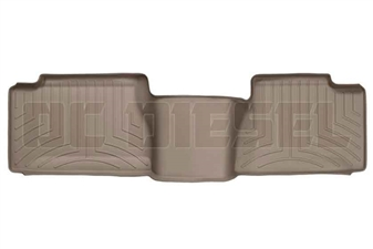 WeatherTech 450034 Tan Rear FloorLiner for 2001-2007 GM 6.6L Duramax LB7, LLY, LBZ
