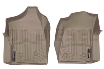 WeatherTech 450281 Tan Front FloorLiner for 2001-2007 GM 6.6L Duramax LB7, LLY, LBZ