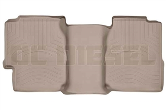 WeatherTech 450622 Tan Rear FloorLiner for 2001-2007 GM 6.6L Duramax LB7, LLY, LBZ