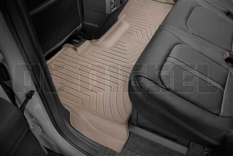WeatherTech 4510122 Tan Rear FloorLiner for 2017 Ford 6.7L Powerstroke