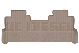 WeatherTech 4510123 Tan Rear FloorLiner for 2017 Ford 6.7L Powerstroke