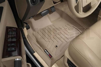 WeatherTech 451201 Tan Front FloorLiner for 2008-2010 Ford 6.4L Powerstroke