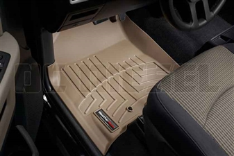 WeatherTech 452161 Tan Front FloorLiner for 2010-2012 Dodge 6.7LCummins