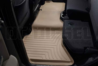WeatherTech 452163 Tan Rear FloorLiner for 2010-2017 Dodge 6.7LCummins