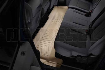 WeatherTech 453052 Tan Rear FloorLiner for 2011-2016 Ford 6.7L Powerstroke