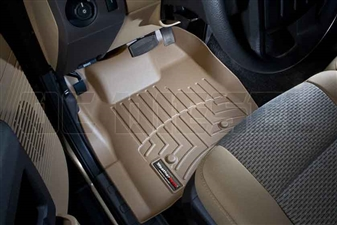 WeatherTech 453211 Tan Front FloorLiner for 2011-2012 Ford 6.7L Powerstroke