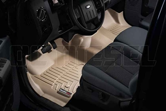 WeatherTech 453291 Tan Front FloorLiner for 2011-2012 Ford 6.7L Powerstroke