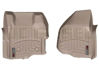 WeatherTech 454261 Tan Front FloorLiner for 2011-2012 Ford 6.7L Powerstroke