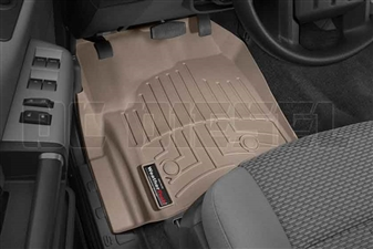 WeatherTech 454331 Tan Front FloorLiner for 2012-2016 Ford 6.7L Powerstroke