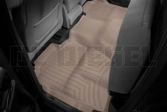 WeatherTech 455423 Tan Rear FloorLiner for 2014-2017 GM 6.6L Duramax LML, LP5