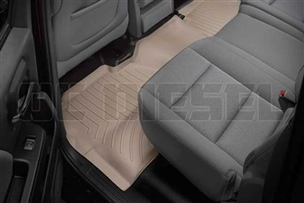 WeatherTech 455424 Tan Rear FloorLiner for 2014-2017 GM 6.6L Duramax LML, LP5