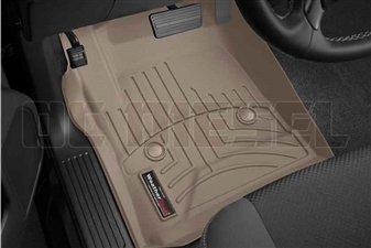 WeatherTech 455441 Tan Front FloorLiner for 2014-2017 GM 6.6L Duramax LML, LP5