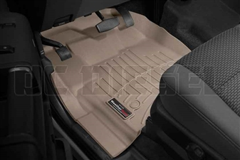 WeatherTech 455821 Tan Front FloorLiner for 2012-2016 Ford 6.7L Powerstroke