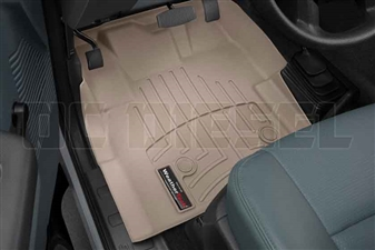 WeatherTech 455831 Tan Front FloorLiner for 2012-2016 Ford 6.7L Powerstroke