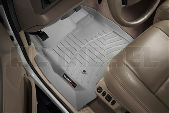 WeatherTech 460021 Grey Front FloorLiner for 1999-2007 Ford 7.3L, 6.0L Powerstroke