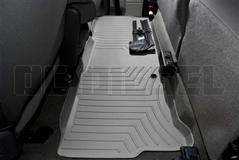 WeatherTech 460023 Grey Rear FloorLiner for 1999-2010 Ford 7.3L, 6.0L, 6.4L Powerstroke