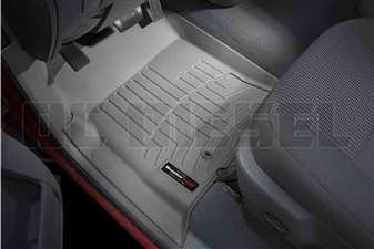 WeatherTech 460041 Grey Front FloorLiner for 2003-2009 Dodge 5.9L, 6.7L Cummins