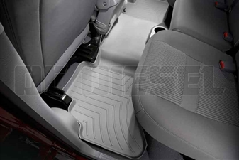 WeatherTech 460042 Grey Rear FloorLiner for 2003-2009 Dodge 5.9L, 6.7L Cummins
