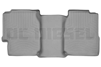 WeatherTech 460622 Grey Rear FloorLiner for 2001-2007 GM 6.6L Duramax LB7, LLY, LBZ
