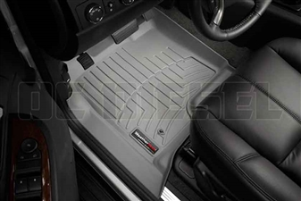 WeatherTech 460661 Grey Front FloorLiner for 2007-2014 GM 6.6L Duramax LMM, LML